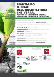 Coordinated urban regeneration in Tuscany