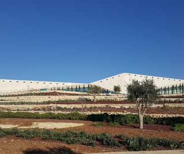 The Palestinian Museum by Heneghan Peng in Birzeit