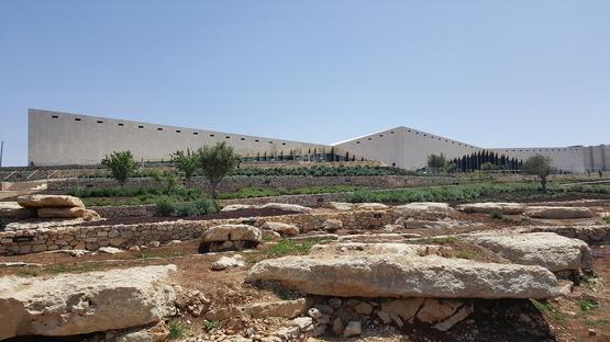 The Palestinian Museum by Heneghan Peng in Birzeit