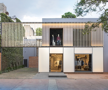 Silver Deer, flagship store designed by MATERIA