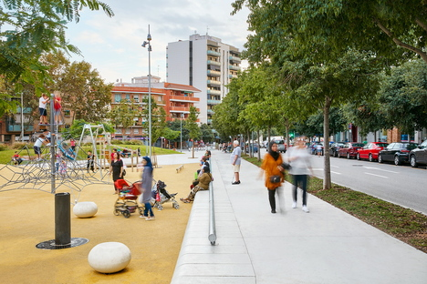 peris+toral arquitectes and green reorganisation in Badalona