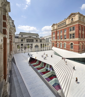 V&A Museum and the new Exhibition Road Quarter by Amanda Levete