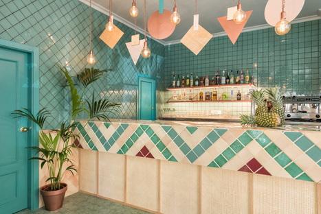 Albabel Restaurant, interior design by Masquespacio