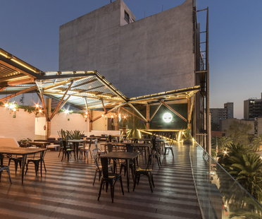 Terraza Timberland in Mexico City