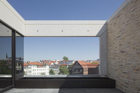 Sustainable building by Tchoban Voss Architekten