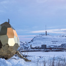 Solar Egg, a sauna for the urban transformation of Kiruna, Sweden