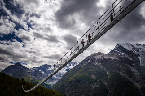 Switzerland lays claim to the longest pedestrian suspension bridge in the world