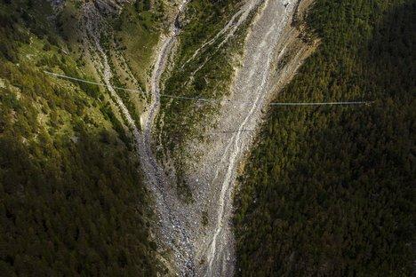 Switzerland lays claim to the longest pedestrian suspension bridge in the world