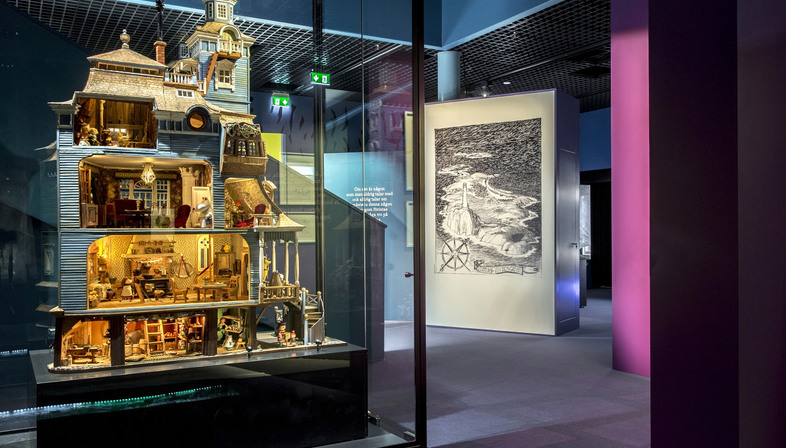 The Moomin Museum in Tampere, Finland