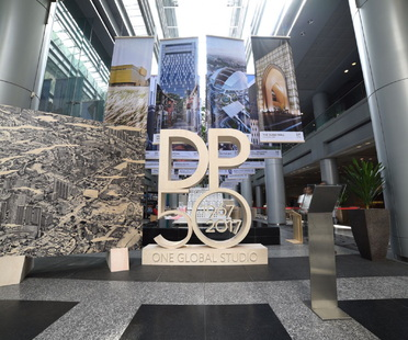 An exhibition to celebrate the 50th anniversary of DP Architects in Singapore