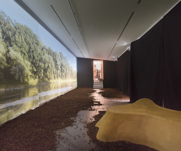 Exhibition on regenerating the Danube river at the Architekturgalerie München