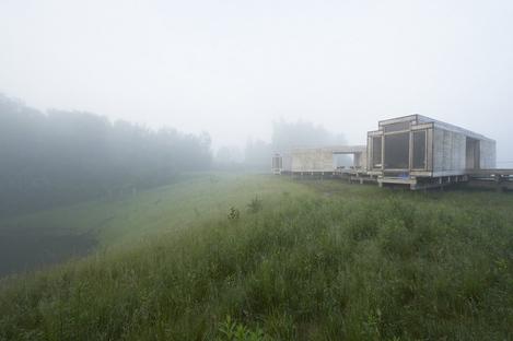 Warten auf den Fluss -Observatorium