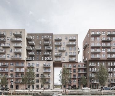 Cubic Houses by ADEPT in Copenhagen