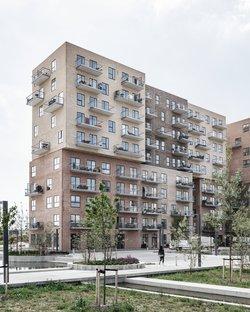 Cubic Houses by ADEPT in Copenhagen