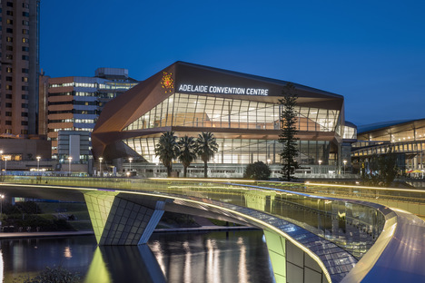 Woods Bagot have completed the redevelopment of the Adelaide Convention Centre
