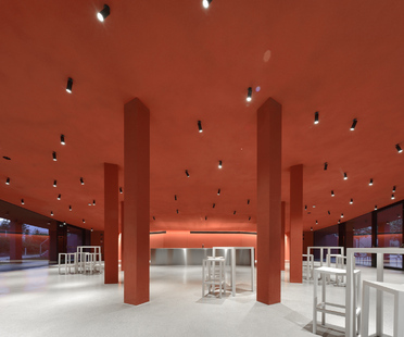 Roland Baldi architects, lunchroom in Bolzano
