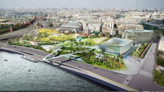 Zaryadye Park, Wild Urbanism in Moscow