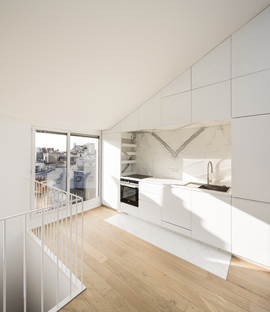 AAVP, two apartments in Paris