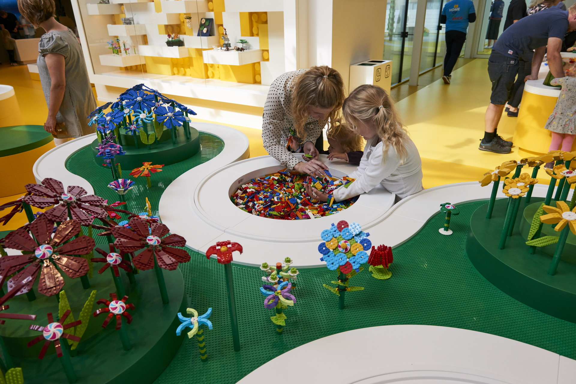 The Lego House Designed By Big Has Opened In Billund Denmark