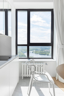 Monoloko Design, apartment with a view in Moscow
