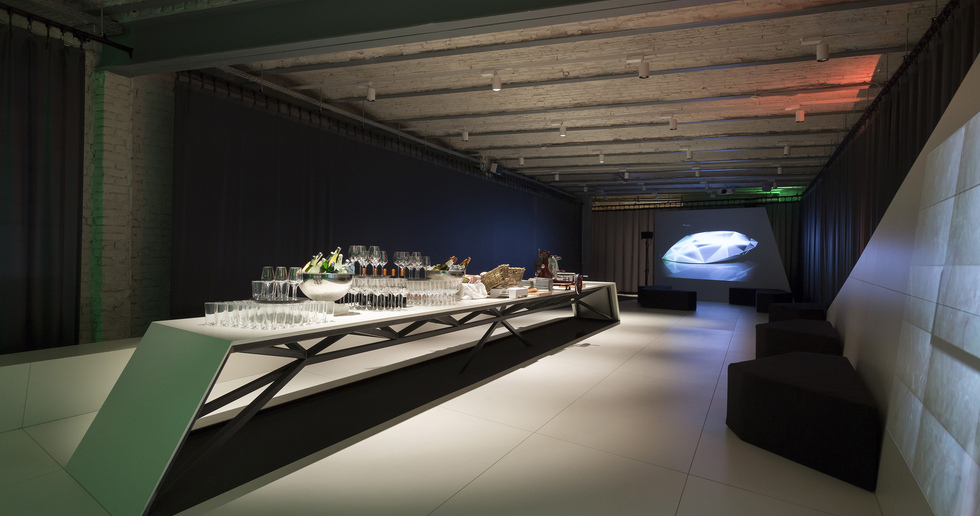 """The Rooms - A Design and Food Experience"", success at the FAB Berlin"