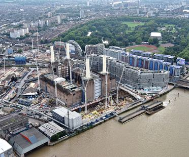 Unseen photos of the Battersea Embankment Development in London