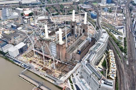 Unseen photos of the Battersea Embankment Development in London