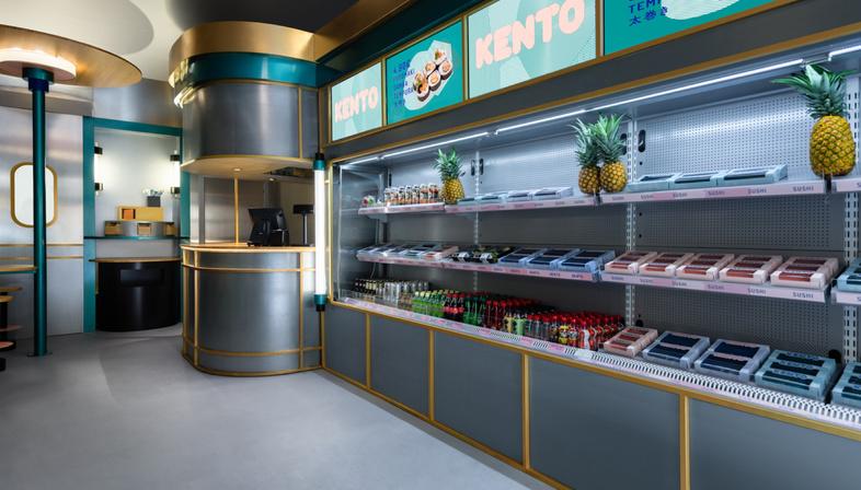 Kento, a fusion interior in Valencia by Masquespacio