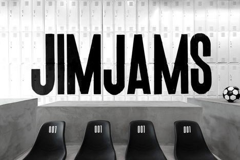 JimJams, space and concept by Anagrama