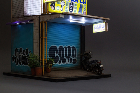 Joshua Smith and his urban miniatures