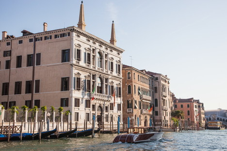 At Aman Venice, sustainability is also served in the dining room.