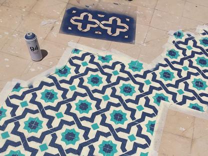 Floors, a project by Catalan artist Javier de Riba