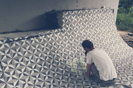 Floors, a project by Catalan artist Javier de Riba