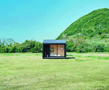 The minimal Muji Hut on sale in Japan