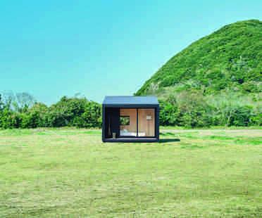 The minimal Muji Hut on sale in Japan