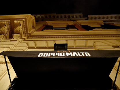 Doppio Malto in Rome designed by Visual Display