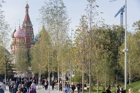 Moscow, big success for Zaryadye Park