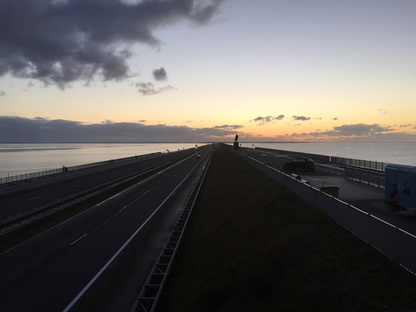 The huge Dutch dyke, Afsluitdijk is celebrating its 85th anniversary