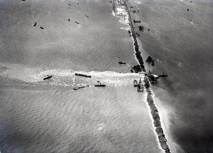 The huge Dutch dyke, Afsluitdijk is celebrating its 85th anniversary