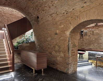 Krypt Bar, jazz and archaeology in Vienna