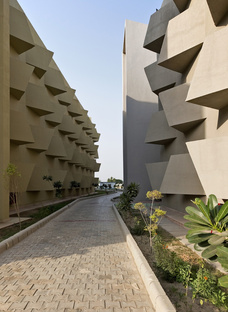 The Street, hostel by Sanjay Puri Architects