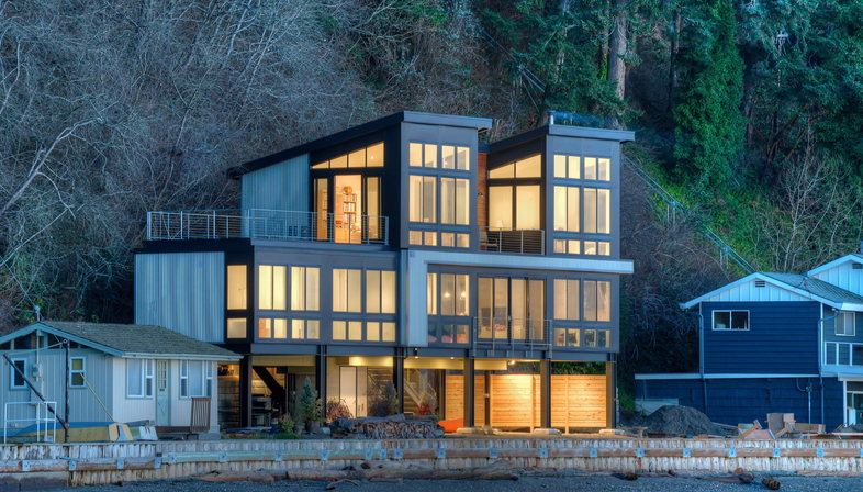 Saratoga Hill House by Designs Northwest Architects