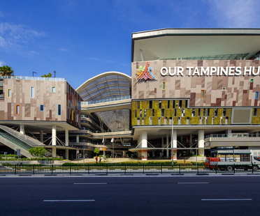 Our Tampines Hub in Singapore by DP Architects