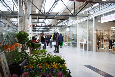 ReTuna Återbruksgalleria in Eskilstuna, Sweden is the world's first recycling mall