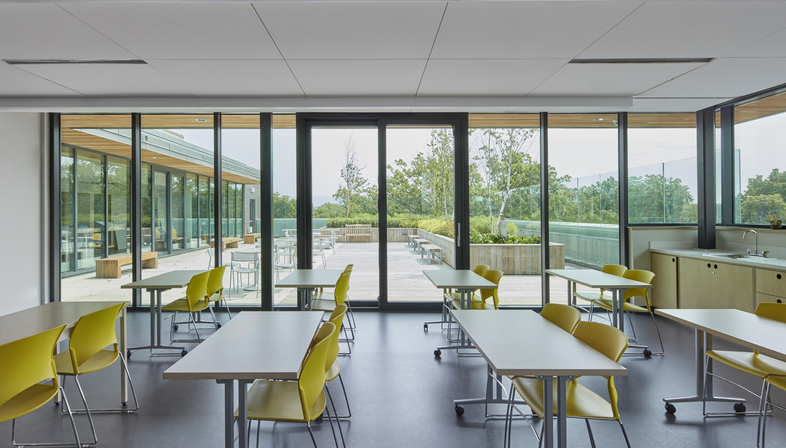 Montgomery Sisam Architects Inc, a registered LEED Gold school