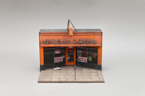 Joshua Smith and his miniatures in Palo Alto, California
