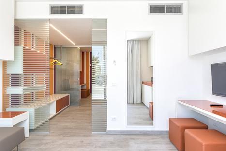 Hotel Tenda Rossa renovation on the Tuscany coastline
