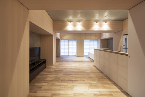 Persimmon Hills, redesigning an apartment in Osaka
