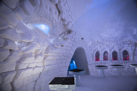 SnowVillage Finland, Game of Thrones made of ice