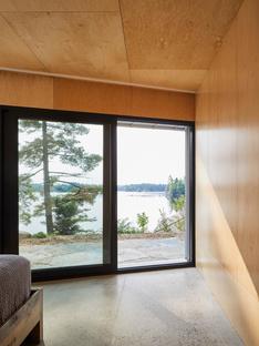 Sky House, a net zero house on the lake